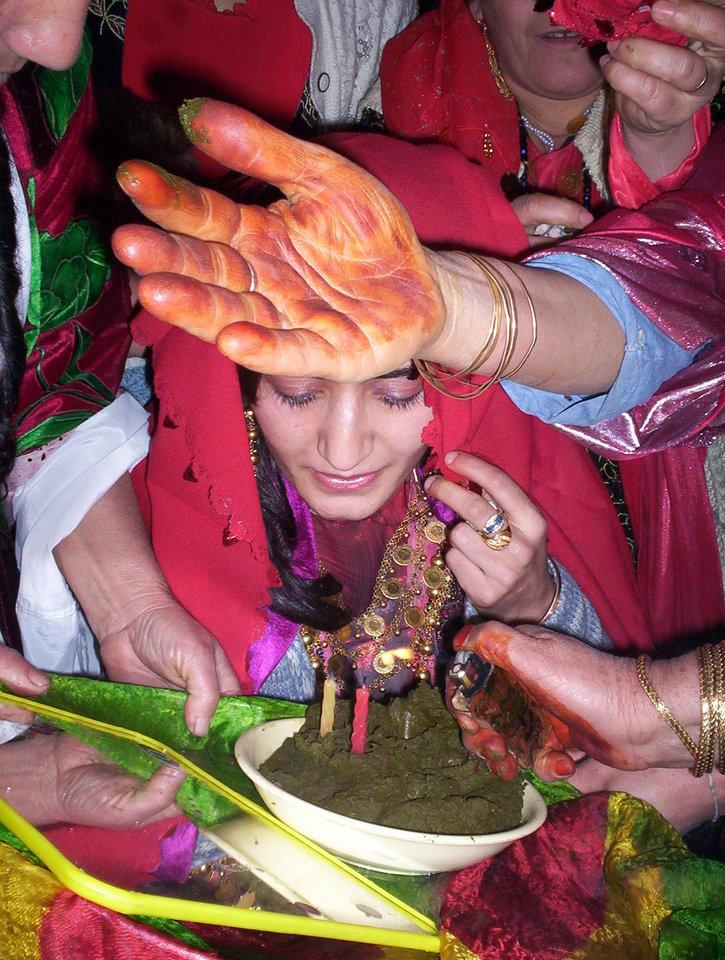 Henna ceremony in Hakkari (December 2004)