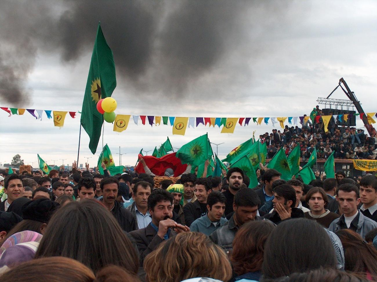 Newroz in Diyarbakir (March 2005)