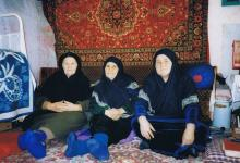 Women mollah in Kobi (February 2002)
